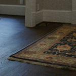 Monocoat Charcoal Oil Finish on Red Oak Flooring