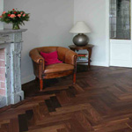 Monocoat Pure Oil Finish on Walnut Flooring
