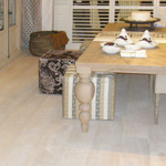 Monocoat Cotton White Oil Finish on White Oak Flooring