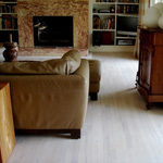 Monocoat Cotton white on red oak