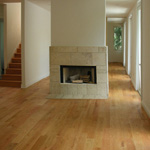 "5"" Red Oak Plank Flooring finished with Pure (Clear)"