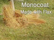 Rubio Monocoat is a natural product made from flax.