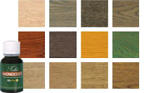 Monocoat Color Samples